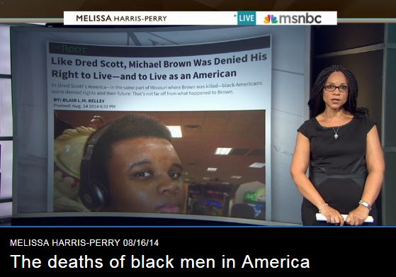 The deaths of black men in America