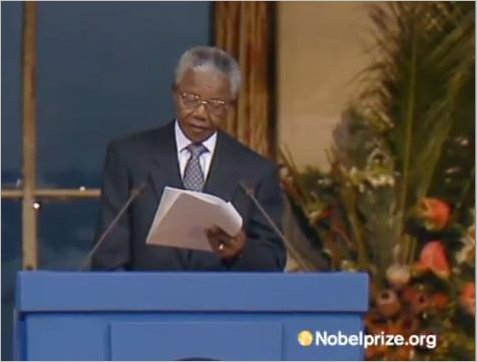 Nobel Peace Prize Lecture | December 10, 1993