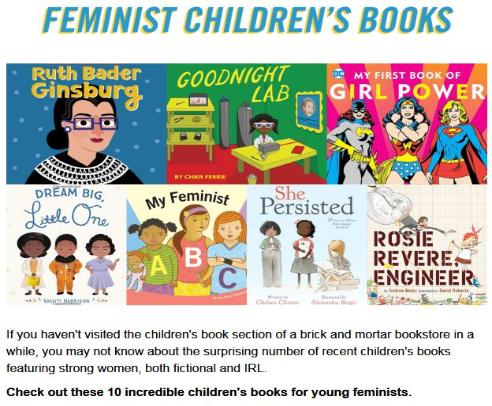 Feminist Children's Books
