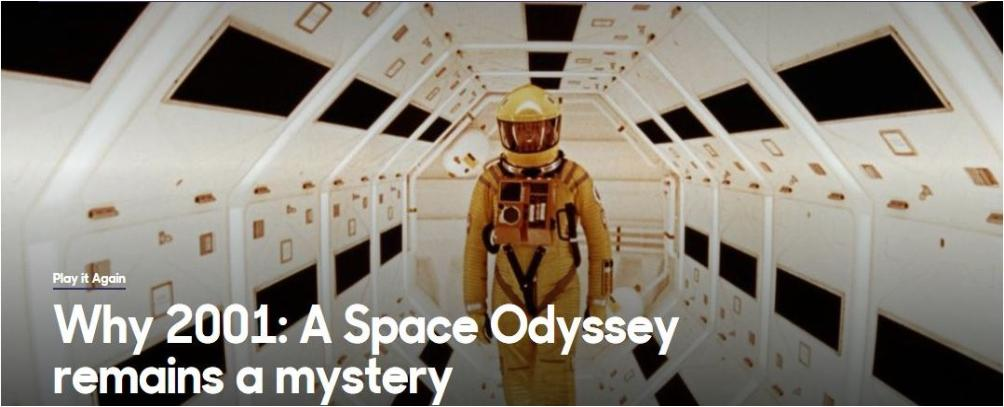 Why 2001: A Space Odyssey remains a mystery