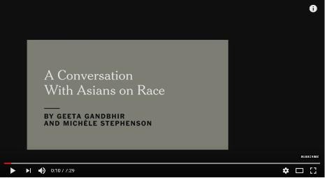 A Conversation With Asians on Race