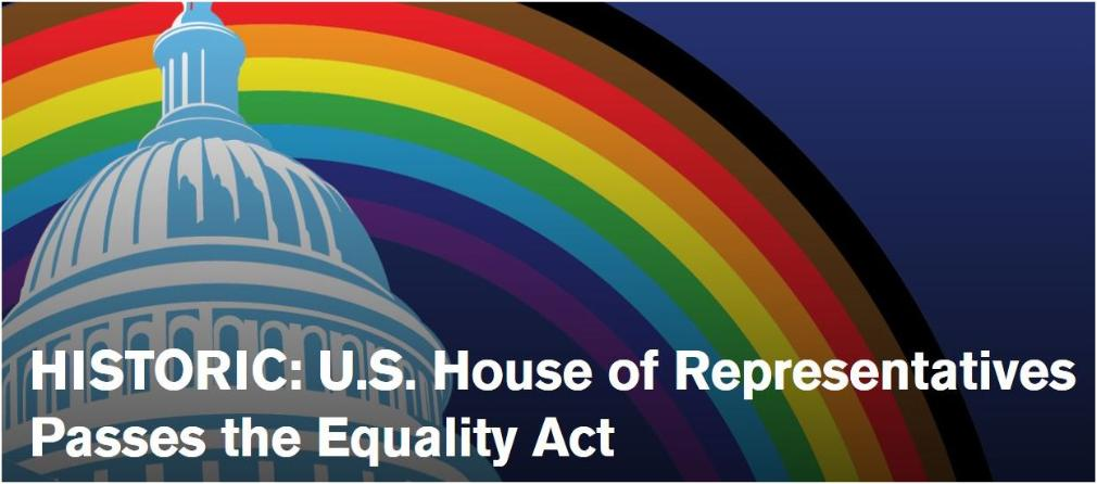 House of Representatives Passes Equality Act