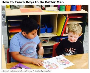 How to Teach Boys to Be Better Men