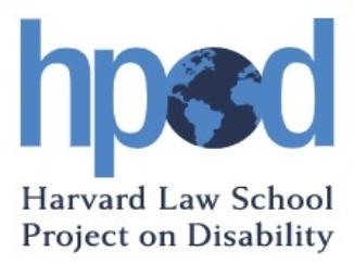 Harvard Law School Project on Disability