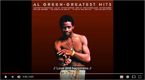 Love and Happiness | Al Green