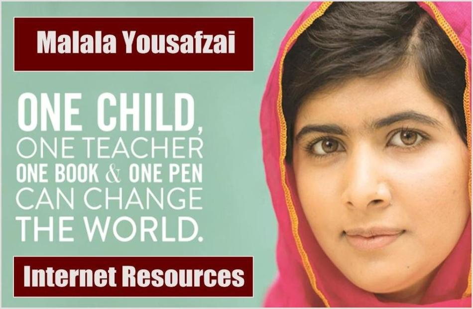 Malala Yousafzai Internet Resources