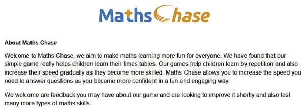 Maths Chase