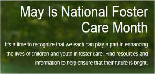 Natonal Foster Care Month