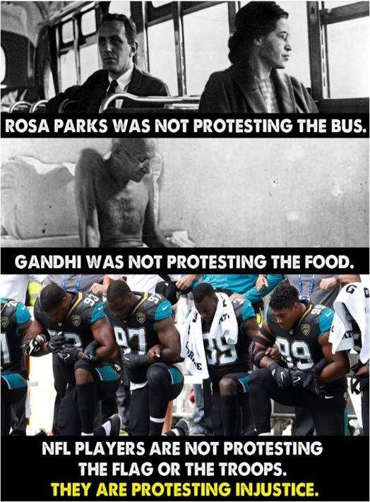 Why NFL Players Protest
