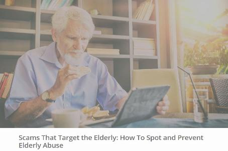 Scams That Target the Elderly