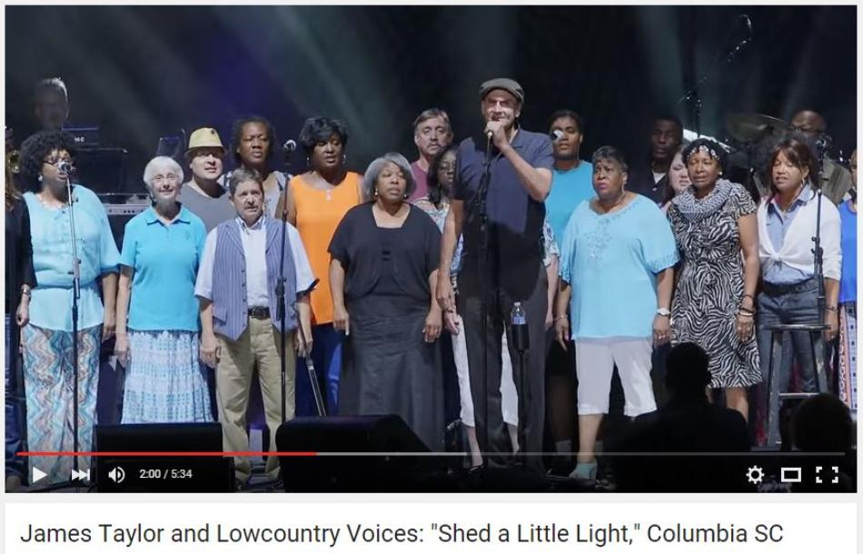 James Taylor and Lowcountry Voices