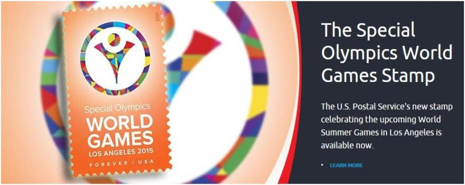 The Special Olympics World Games Stamp