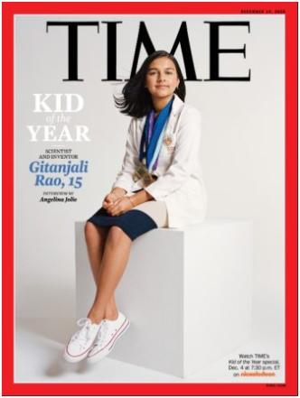 TIME Kid of the Year 2020