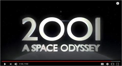 2001: A Space Odyssey trailer