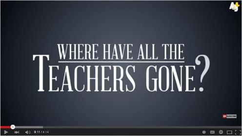 Where Have All the Teachers Gone?